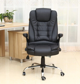 Купить с кэшбэком Special package mail can lie office chair Human body engineering home computer massage leather boss cowhide swivel chair