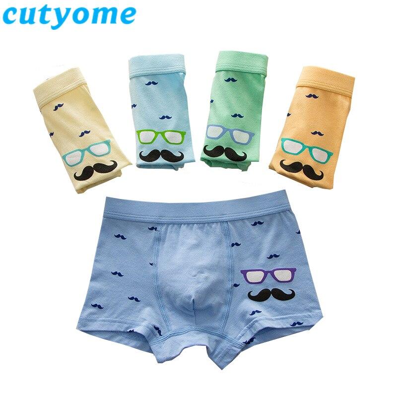 Cutyome 5pcs/lot Toddler Boys Thong Underwears Baby Boy Clothes Cartoon Kids Briefs Shorts Panties Children Boxers Undies 7 8 9