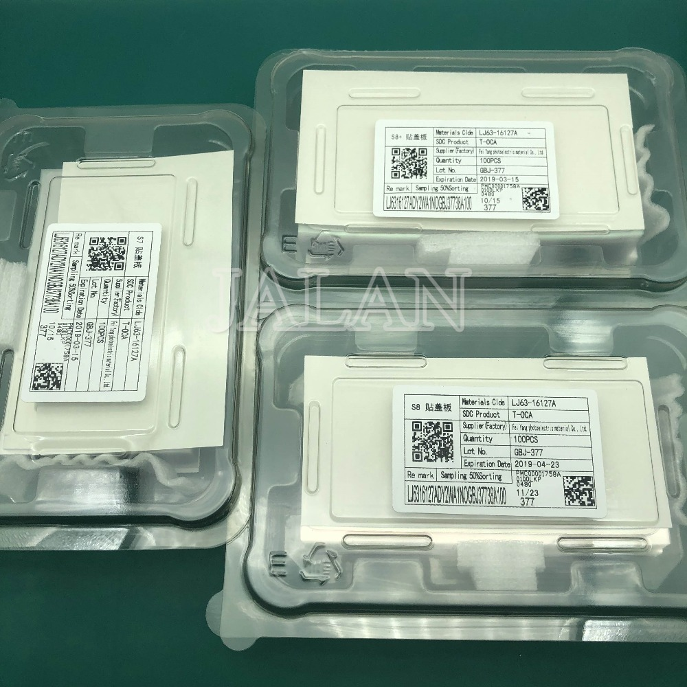 125um Original T OCA Film for Samsung S7 edge S8 S8 plus in frame OCA for