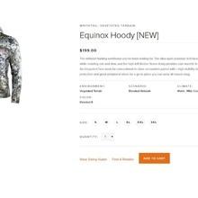 2018Куртка SITKA Equinox Jacket цв. Optifade Elevated новая коллекция