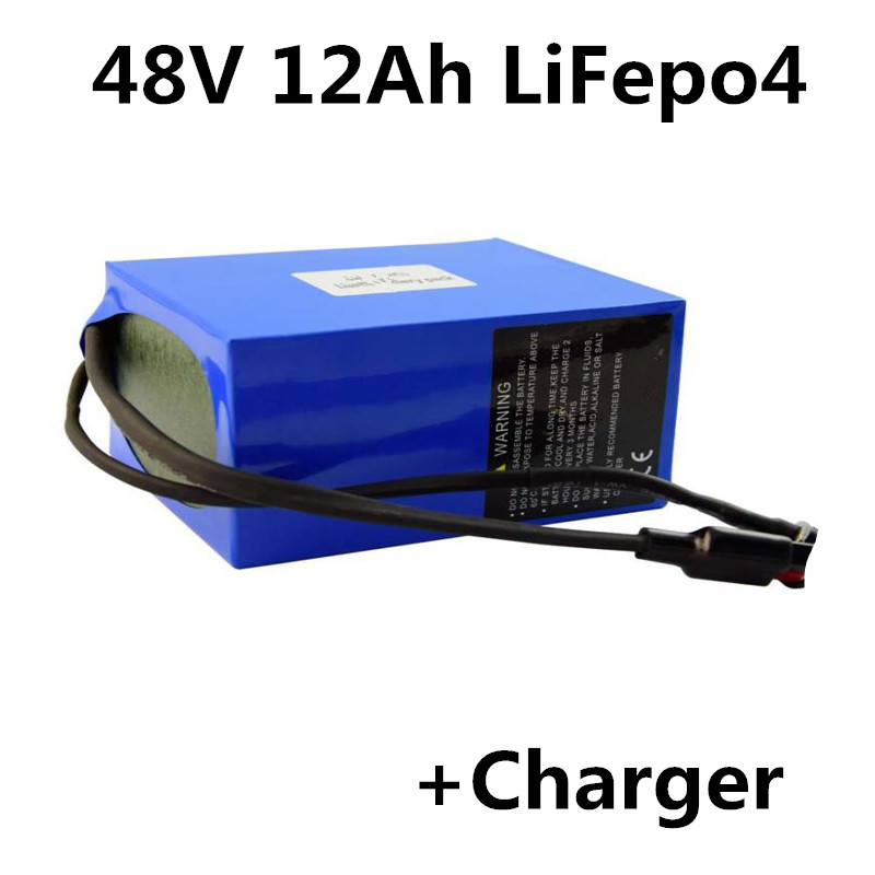 2A Ebike Lithium Battery Charger For 48V LiFePO4 Battery in Plastic Case