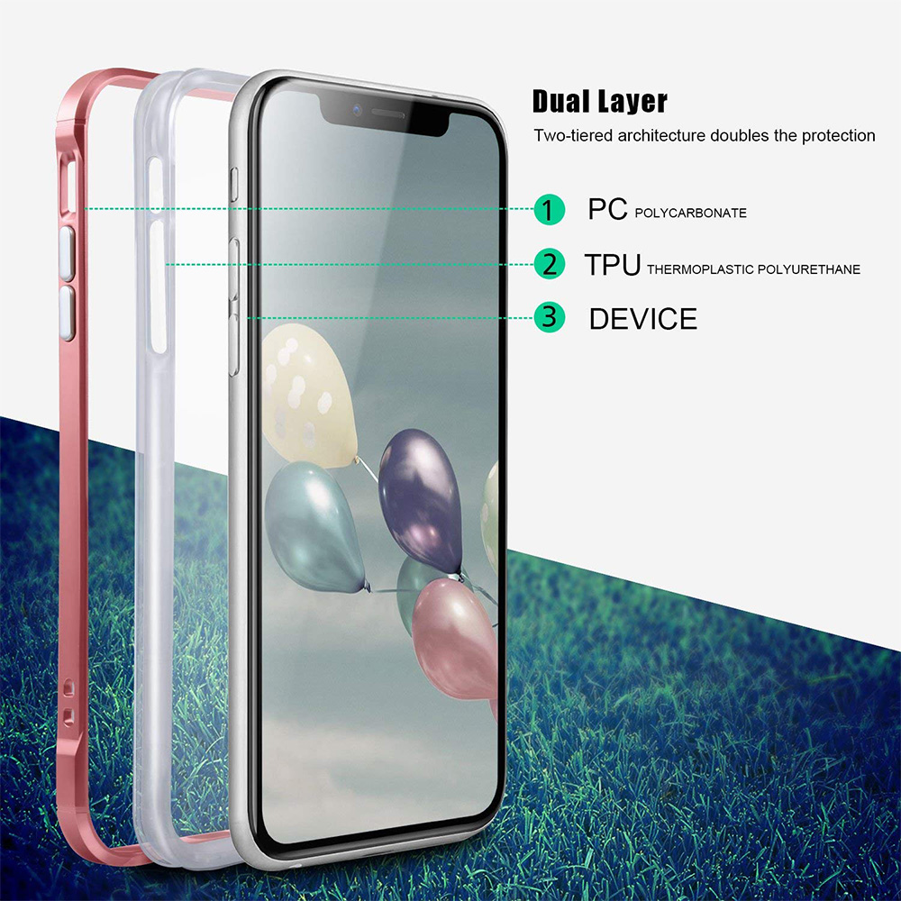 Hsmeilleur-For-iPhone-7-Case-Dual-Layer-Soft-Clear-TPU-Back-Cover-PC-Bumper-Frame-For-iPhone-XS-MAX-XR-X-8-7-6-6s-plus-5s-Coque (15)