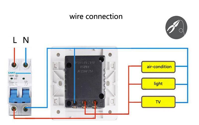 US $23.0 |10pcs 86X86mm hotel energy saving switch Magnetic card plug on