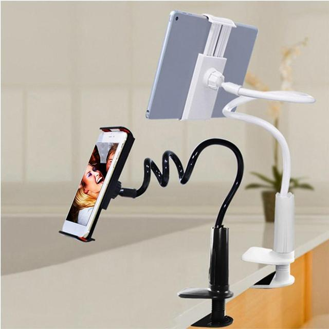 clamp bestek lazy dp arm ipad mount bracket desk bolt for long bed stand table holder gooseneck