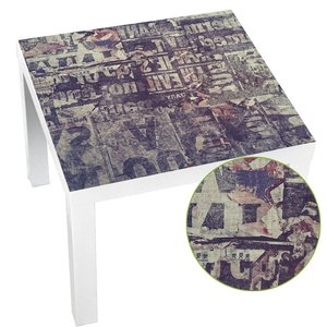 Image 1 - Gorący wodoodporny Pvc plac naklejka na stół obrus pulpitu folii ochronnej biurko naklejki ciemny fiolet