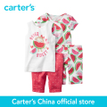 Carter's 4 pcs baby children kids Snug Fit Cotton PJs 331G084/351G079, sold by Carter's China official store