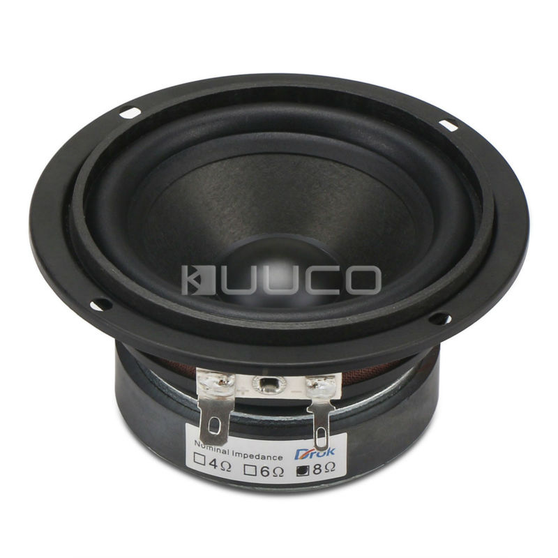 DIY Speakers 3 inches 8ohms HIFI Full Range with 90dB High Sensitivity  Home Woofer Stereo for Multimedia and Mini 15W Speakers fostex fw405n 15 17cm 8 ohms woofer hifi diy audio 50w 150w speaker unit