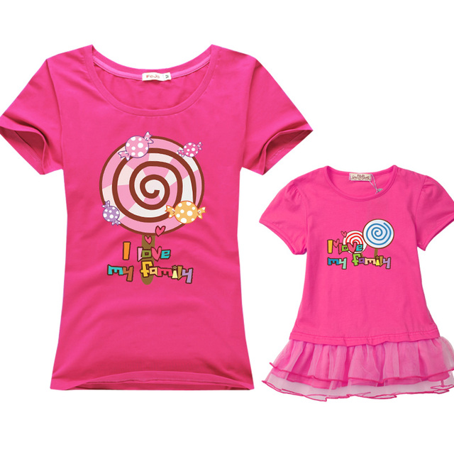 New summer family match t-shirt Assorted Fashion outfits