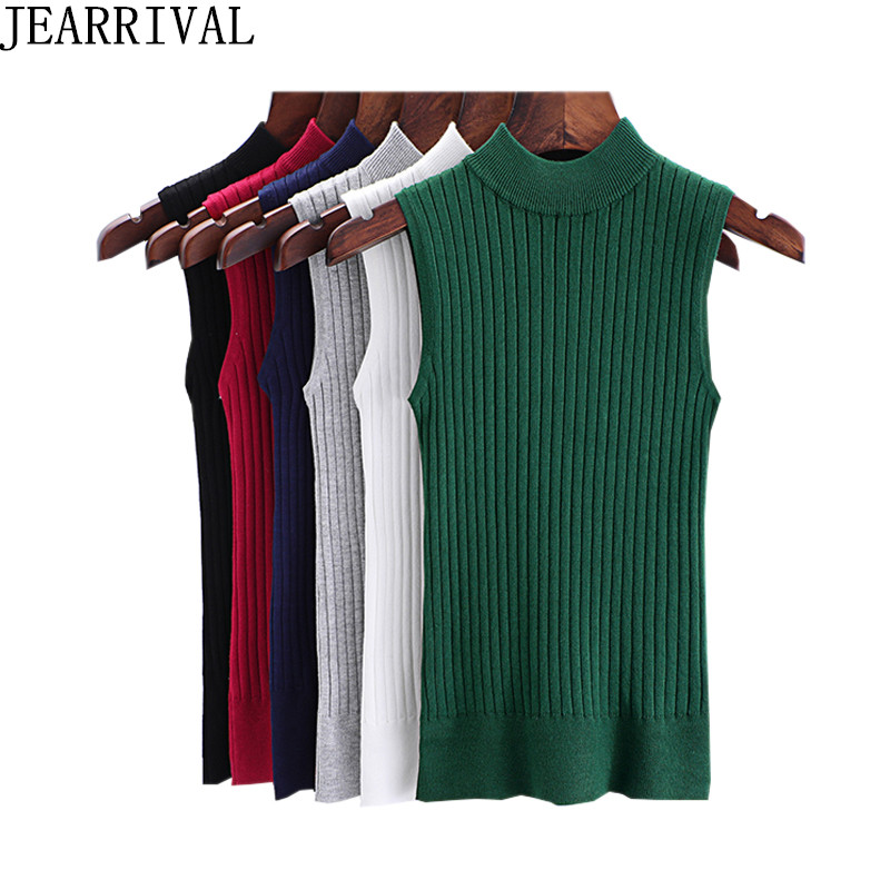 2018 New Fashion Summer Knitting Tank Tops Women Sleeveless Off Shoulder Bustier Bottoming Top Stretchable Vest Camisas Mujer