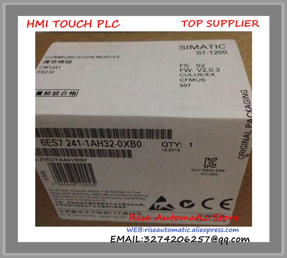 S7-1200 PLC Original Communication Module 6ES7241-1AH32-0XB0 CM1241 RS232 6ES7 241-1AH32-0XB0 6ES72411AH320XB0  цены
