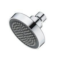 Small Top Shower Head, Bathroom Single Head with 360 Degree Rotating Shower Head Removable Chrome Bath Tub Faucet Ducha