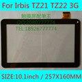 Черный белый ИРБИС TZ21 TZ22 3 Г 10.1 inch tablet pc емкостный сенсорный экран панели дигитайзер стекла