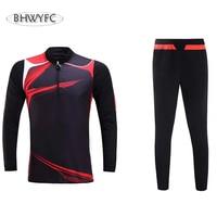 BHWYFC High Quality 2016 2017 Soccer Shirts Football Soccer Jerseys Survetement Football Training Suit Maillot De Foot Sports