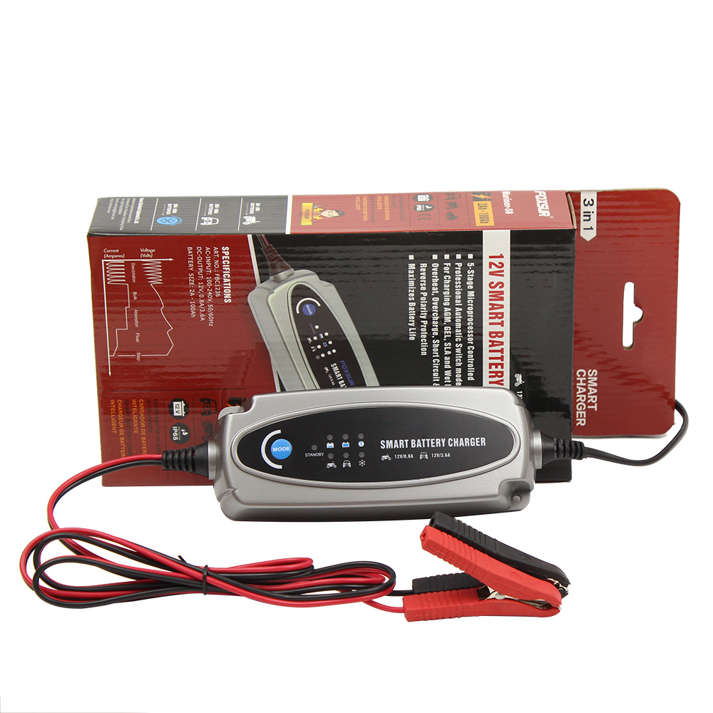 Multi MXS 5.0 12 v Batterie De Voiture Smart Chargeur D'entretien et LIVRAISON INDICATEUR 56-382 UE plug