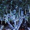 80 см Rain Drop/Сосулька Падает Снег Строка ПРИВЕЛО украшения Рождественской елки Каскадных Метеор Свет Украшения