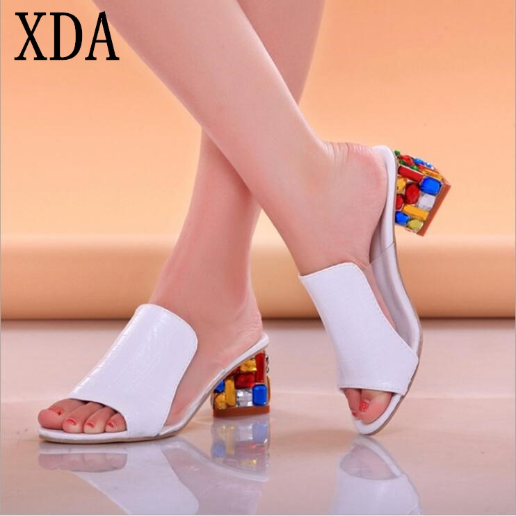 XDA Women Sandals 2018 Ladies Summer Slis