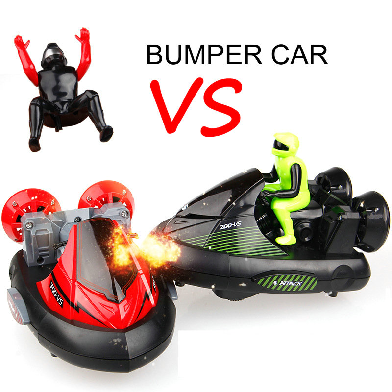 HB New Funny RC Battle Bumper Cars VS With Charing Battery Car Model 16CM Children Gift
