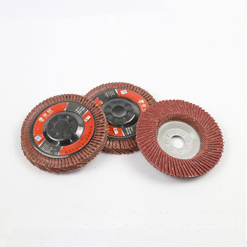 5pcs 100mm Sanding Flap Disc Grinding Flap Wheels Brush Sanding Metal Wood Polishing Rust Removal Tool For Angle Grinder