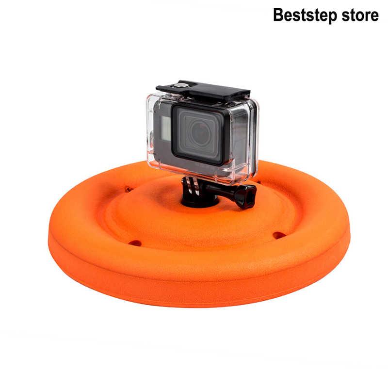 Многофункциональный вращающийся диск с Поплавковым креплением игрушка-Фрисби для животных для Gopro Hero 7 Hero 6 5 4 3 + Xiaomi yi 4 k SJCAM аксессуары для экшн-камеры