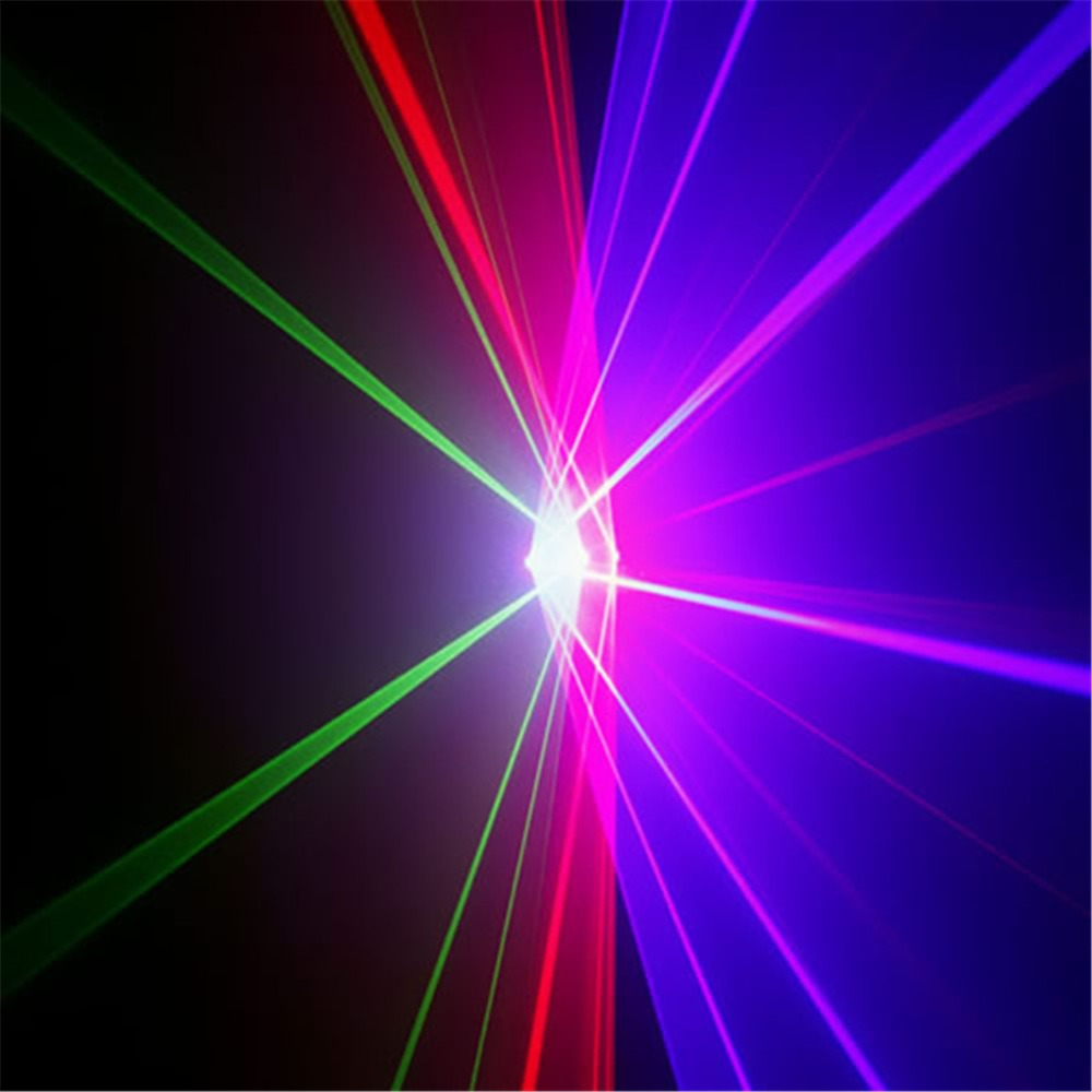 Diode Lighting Us 290 99 Aucd 4 Lens Rgbp 1 2w Laser Diode 7 Ch Dmx 512 Scan Lights Pro Dj Ktv Disco Party Projector Show Stage Lighting Rgbp1200 In Stage Lighting
