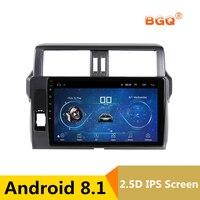 10,1 2.5D IPS Android 8,1 автомобиль DVD gps для Toyota Prado 150 Land cruiser 2014 2015 2017 головного устройства Аудио радио стерео навигации