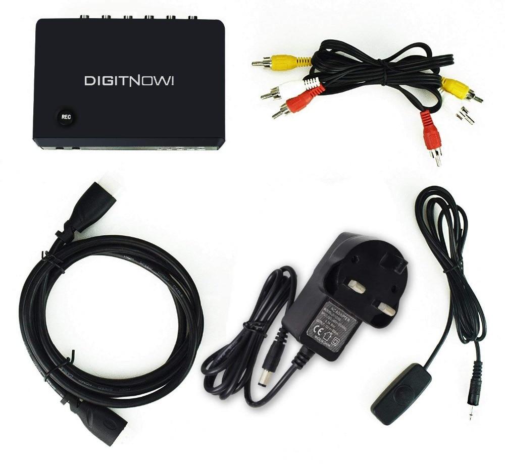 Captura e dispositivo de Captura de Vídeo Digitnow! Jogo hd Video Converter Cable