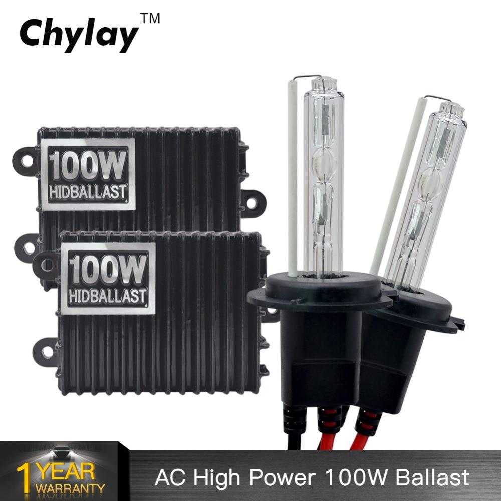 где купить 1 set 100W H7 xenon HID xenon kit H1 H3 H4 H8 H9 H10 H11 9005 HB3 9006 HB4 100W ballast 5000K 6000K 8000K for car headlight по лучшей цене