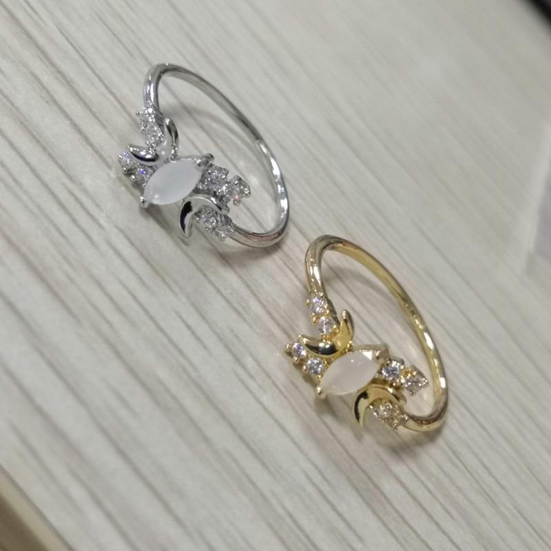 ZHIXUN Nieuwe Vintage geometrische sieraden vrouwen Sliver / rose - Mode-sieraden - Foto 4