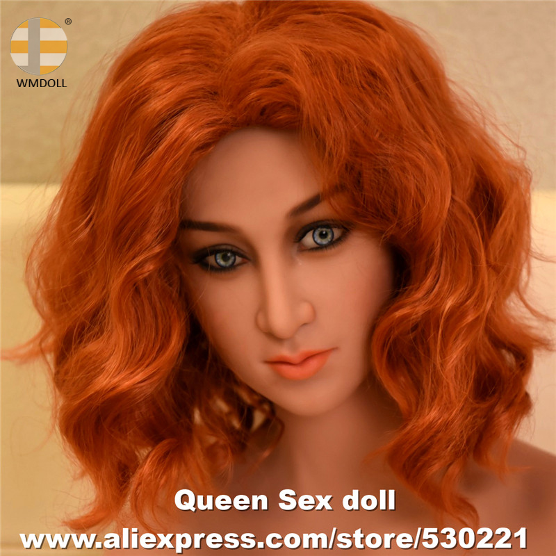 WMDOLL Top Quality Oral Heads For Adult Sex Doll Japanese Silicone Love Dolls Head Masturbador Sexy Products top quality oral sex doll head for japanese realistic dolls realdoll heads adult sex toys