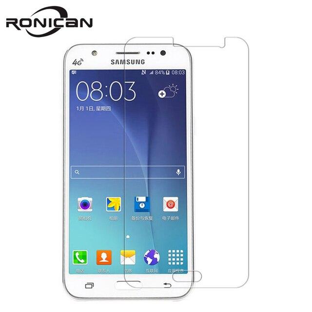 Voor Samsung Galaxy J5 J500 Nano gecoat Gehard Glas Protective Film Screen Protector Op Duos Lte J500Y J500G J500M j500F