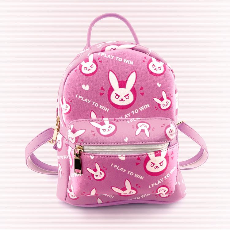 kawaii chica mochila ow juego fans dva inspirado diseo seora encantadora mochila rosa bolsa de regalo