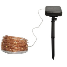 Solar String Light 10/20/32M LED Fairy Copper Wire Lamp Ambiance Lighting for Outdoor,Lawn,Garden,Holiday, Xmas Tree,waterproof(China)
