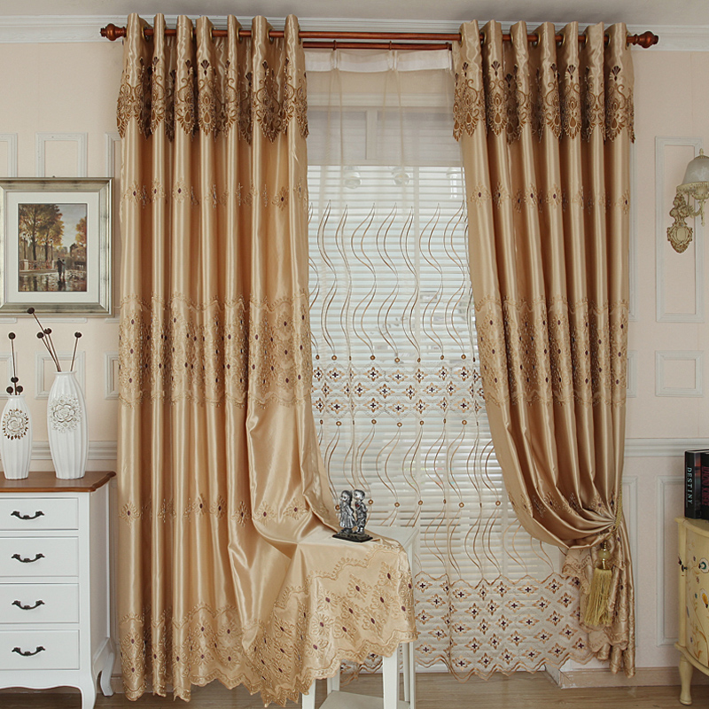 Curtains Bedroom Gold