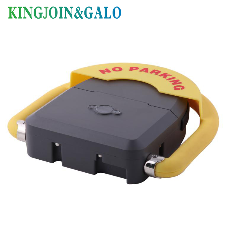 IP68 Outdoor used water proof remote control battery powered automatic parking barrier parking lock parking half ring shape of the block machine parking barrier lock