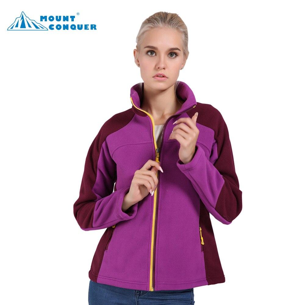 Fleece Jacket Trekking Thermal Coat Soft Outdoor Winter Women Windproof Camping Chaqueta