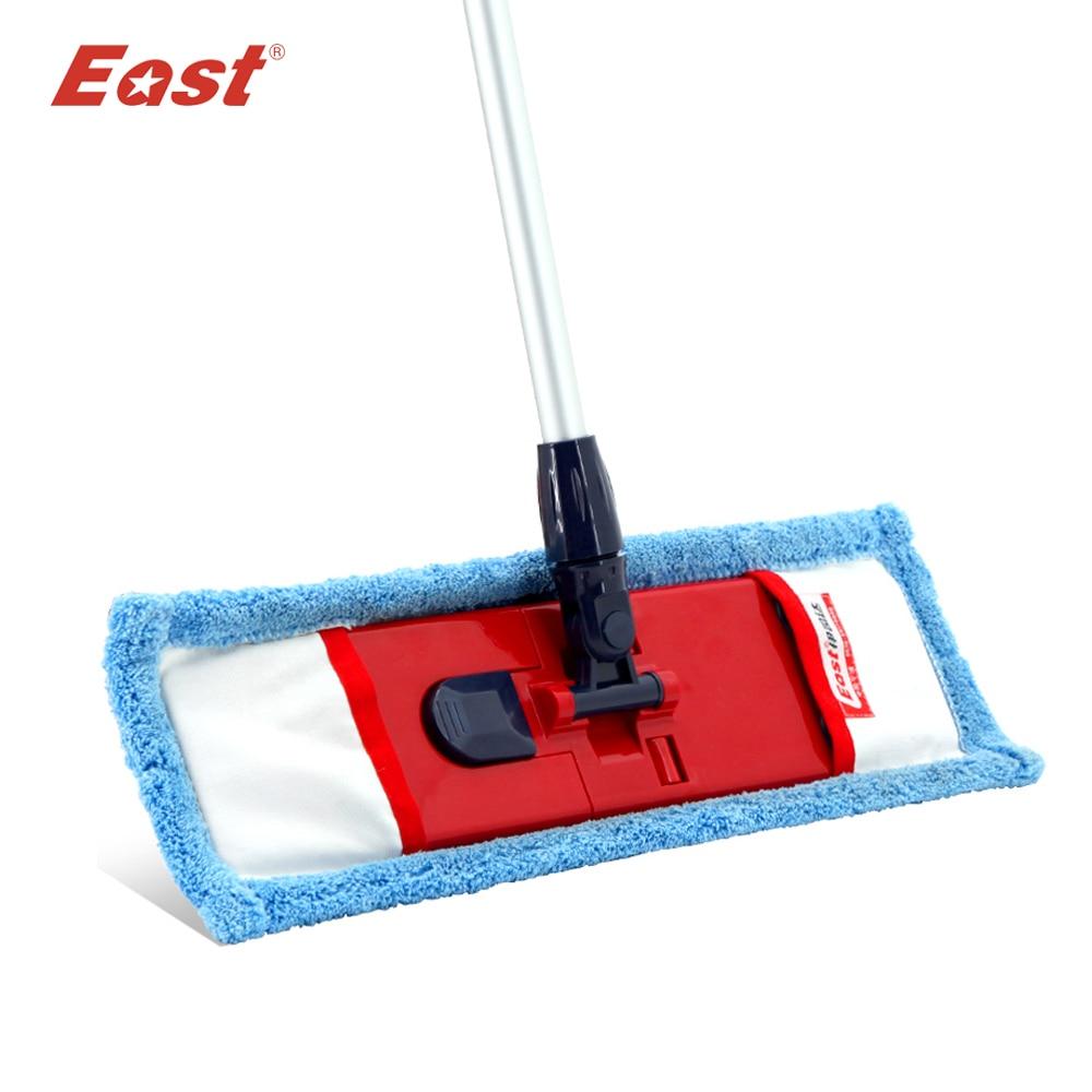 -Orient Utile Plat Vadrouille Télescopique Pôle Microfibre Tissu Serviette Cuisine de Plancher du Salon Outils De Nettoyage de Ménage