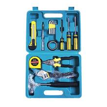 16 In 1 Professional Car Emergency Repair Tool Kit With Wrench Screwdriver Pliers Hammer Test Pencil Tape Measure(With Box) 8 piece multifunctional hardware hand tool sets with combination pliers screwdriver electroscope pencil and claw hammer