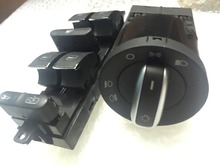 new Headlight Window Control Switch Button For VW 99-04 GTI Golf 4 Jetta MK4 BORA BEETLE Passat B5 B5.5 3BD 941 531 3BD 959 857