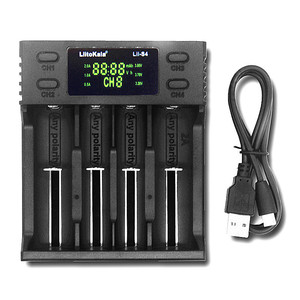 Image 5 - LiitoKala Lii S4 lii S2 Lii S1 USB Smart Charger voor 18650 18350 21700 Ni Mh Lithium Oplaadbare Batterij AA AAA LCD Lader