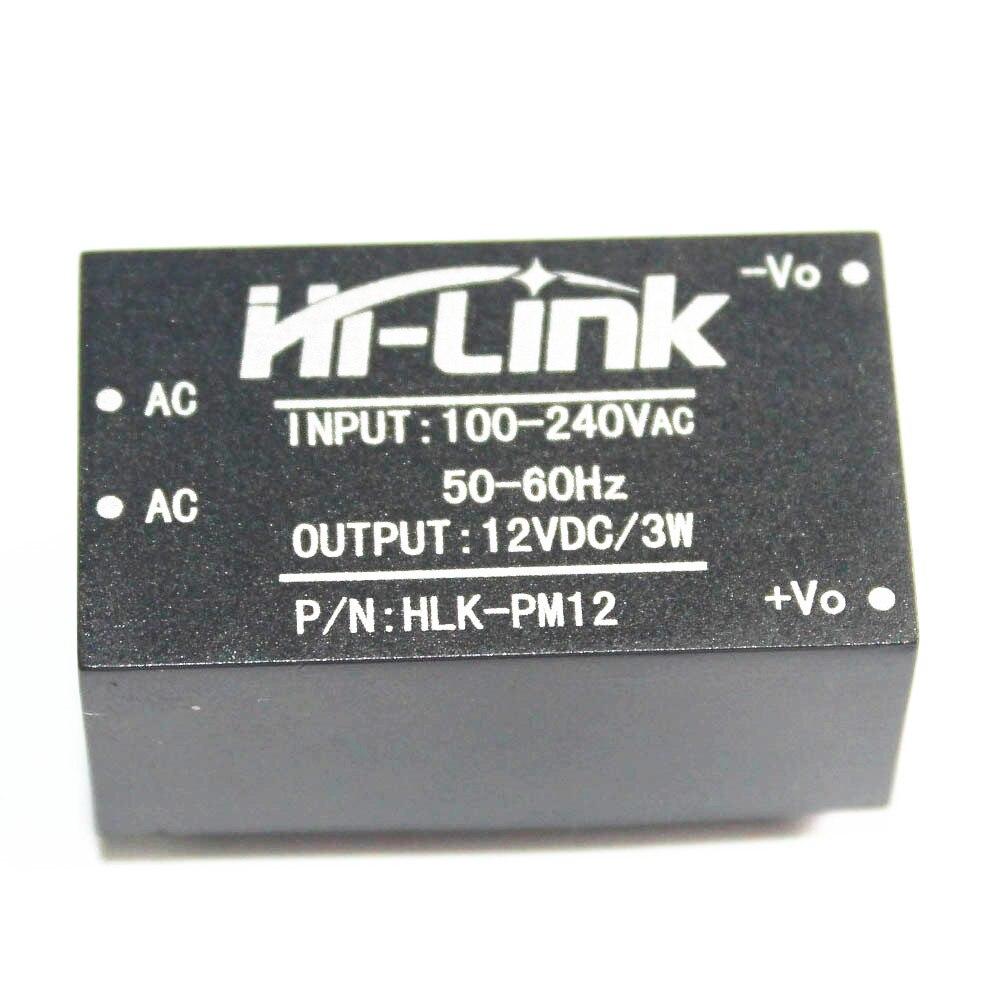 HLK-PM12 AC-DC 220V to 12V 3W Buck Step Down Power Supply Module Convert