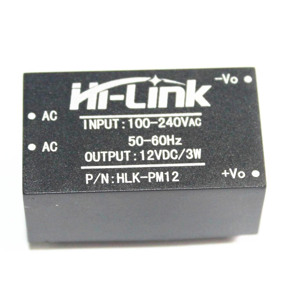 1PCS HLK-PM12 AC-DC 220V to 12V 3W Buck s
