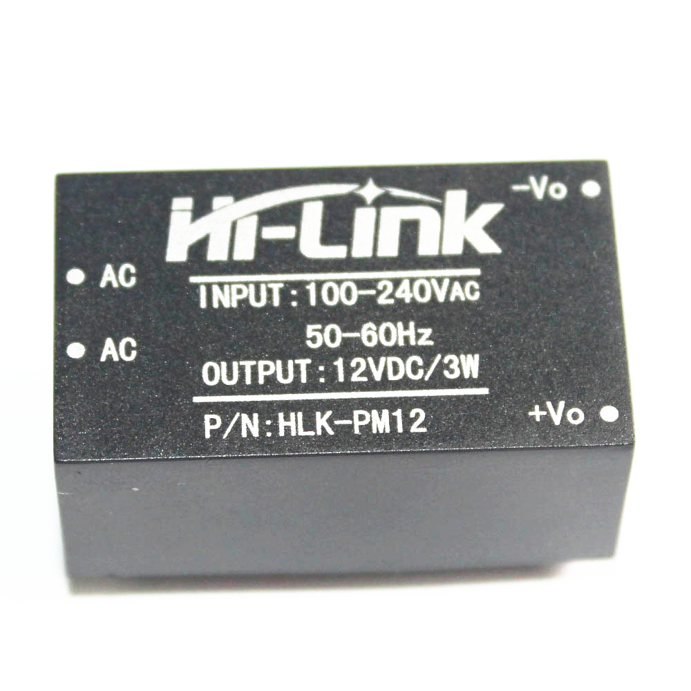 1PCS HLK-PM12 AC-DC 220V to 12V 3W Buck