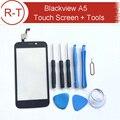 Blackview A5 Сенсорный Экран 100% Первоначально Дигитайзер Стеклянная Панель Замена Тяга Для Blackview A5 Мобильный Телефон + Бесплатные Инструменты