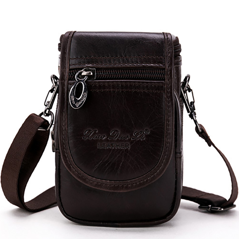 Men Genuine Leather Shoulder Bag Multifunction Male Waist Hip Bum Belt Purse Pouch Famous Brand Small Cross Body Messenger Bags пневматический пистолет для накачки колес quattro elementi 770 919