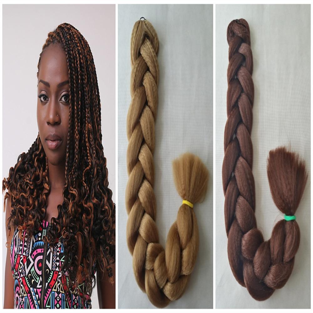 25 500pcslot Kanekalon Hair X Ultra Braid Made In Nigeria Color Black Brown Blonde Grey Purple Blue 2 7days Arrive On Aliexpress Alibaba Group