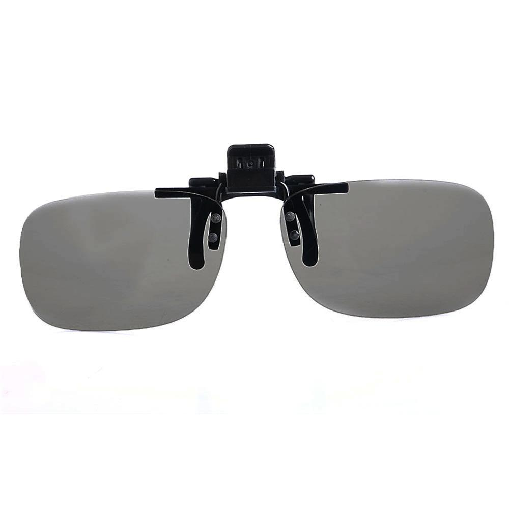 OOTDTY 1 PC Clip On type Passive Circular Polarized 3D Glasses Clip for 3D TV <font><b>Movie</b></font> image