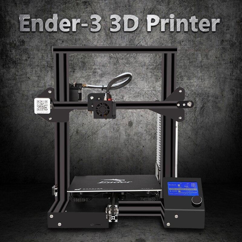 cheapDIY 3d printer Creality Ender3 Ender 3S Pro upgraded Tempered Glass Optional V slot Resume Power