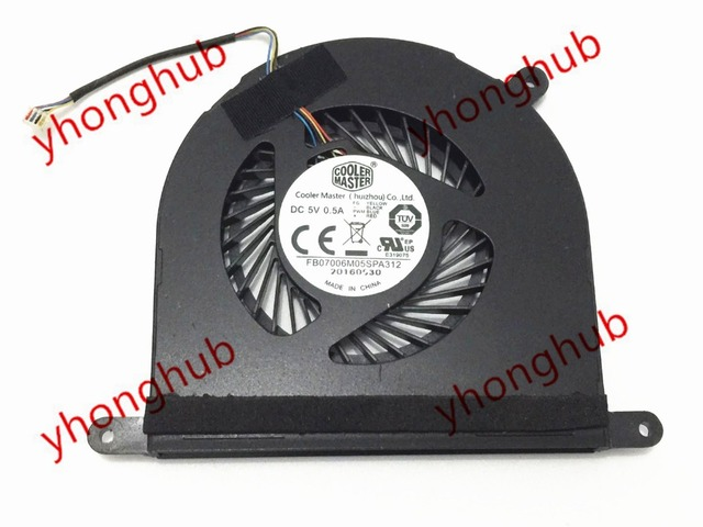 Emacro for Cooler Master FB07006M05SPA312 Server Round Fan DC 5V 0.5A 4-wire