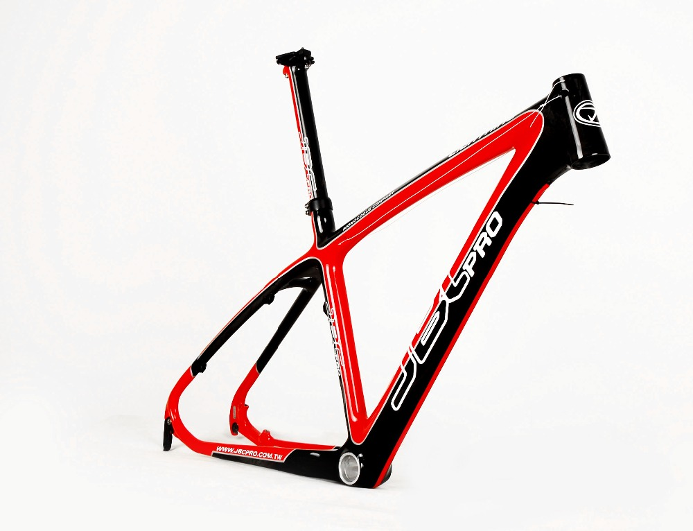JBC Lightning Carbon MONOCOQUE MTB Frame With Seat Post And BB30 17