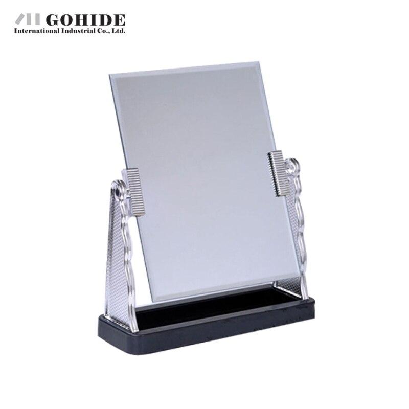 DUH Ultra Desktop Make Up Silber Gerahmt Rechteck Spiegel Oberfläche ...